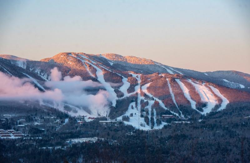 Ski slopes at Grand Summit Hotel.