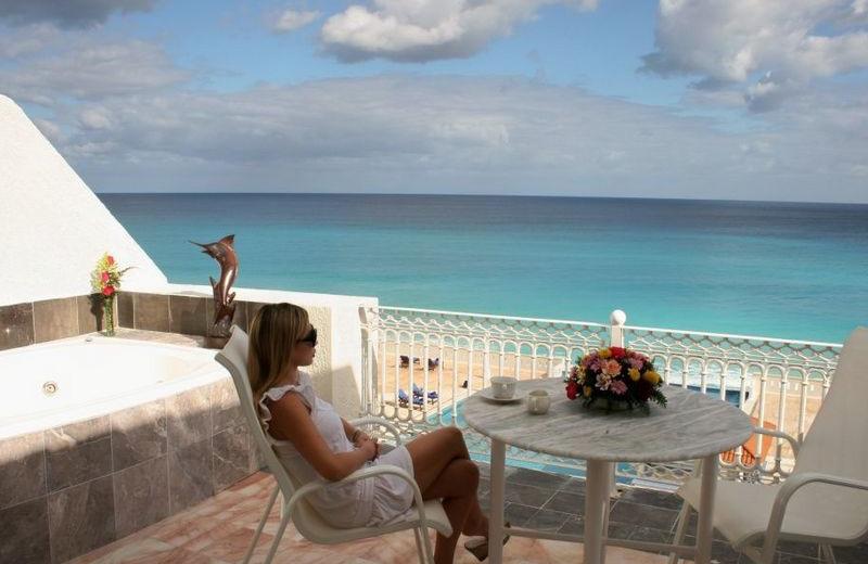 Balcony at Casa Turquesa.