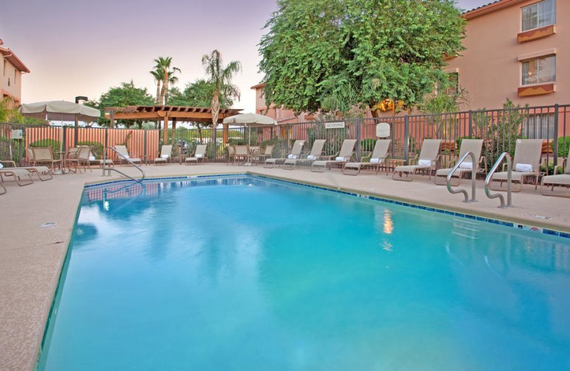 Outdoor pool at TownePlace Suites Tempe.