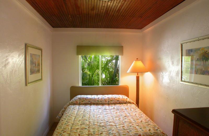 Guest room at Atlantic Bay Resort.
