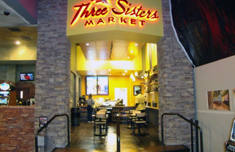 Three Sisters Market at Lodge at Cliff Castle.