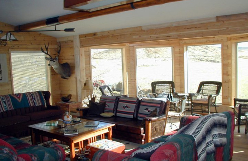 Interior view of K3 Guest Ranch.