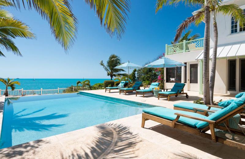 Outdoor pool at Villa Turquesa.