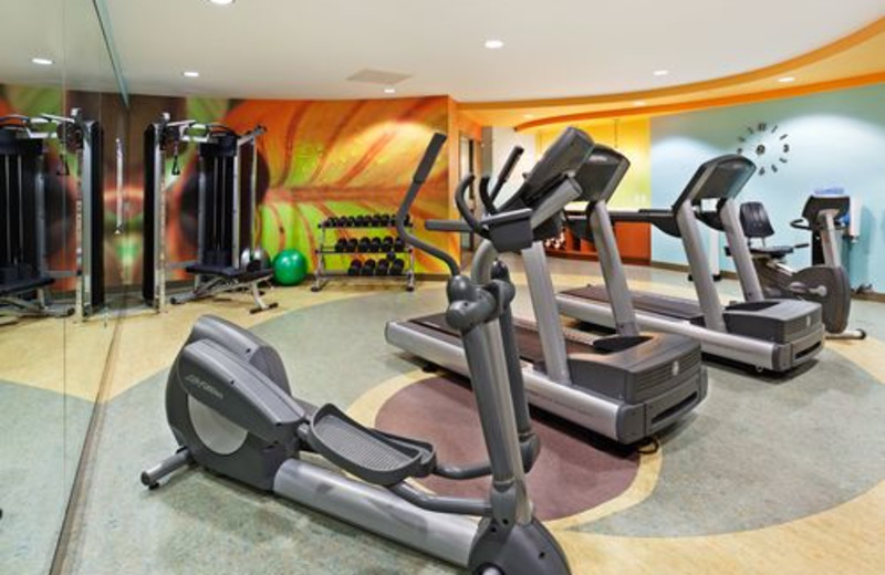 Fitness Room at the Hotel Indigo Asheville Downtown