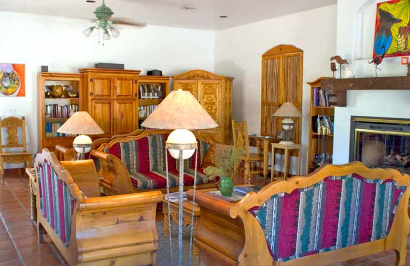 Living Room Area at Casa de San Pedro
