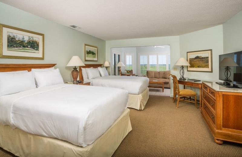 Guest room at Ocean Lodge.