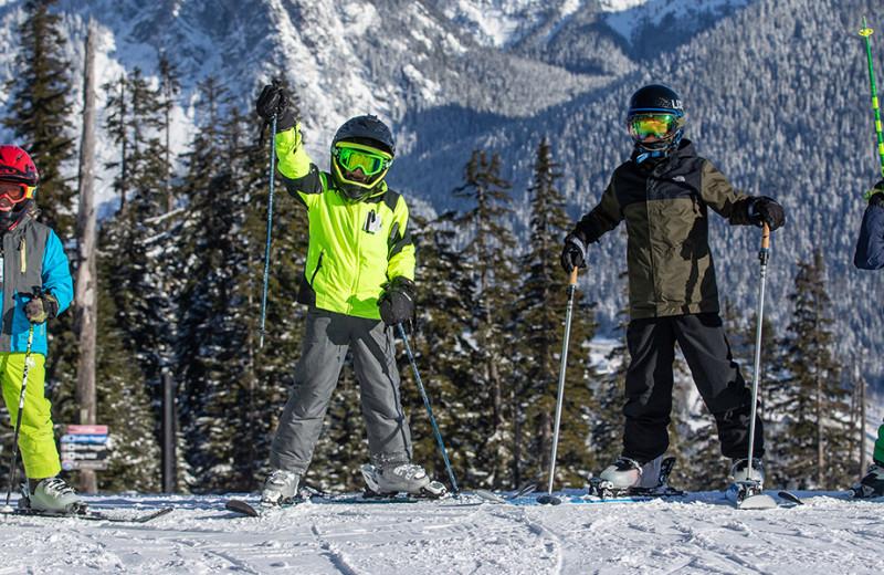 Skiing at Summit at Snoqualmie.