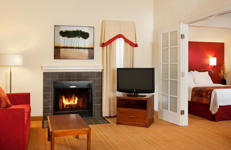Guest room at Residence Inn by Marriott Los Angeles Torrance/Redondo Beach.