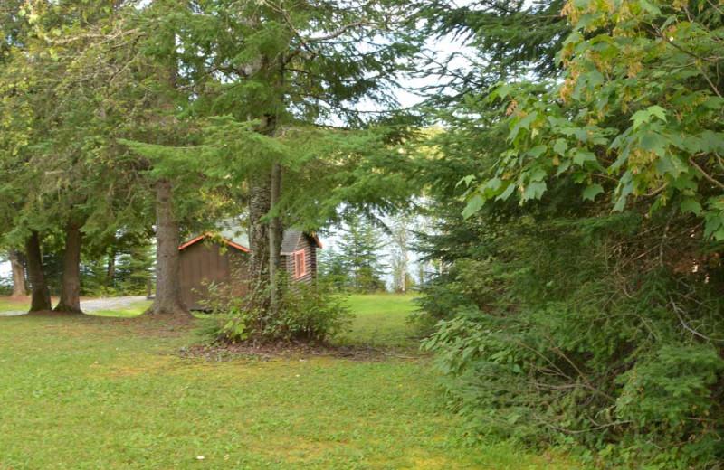 Exterior view of Manotak Lodge.