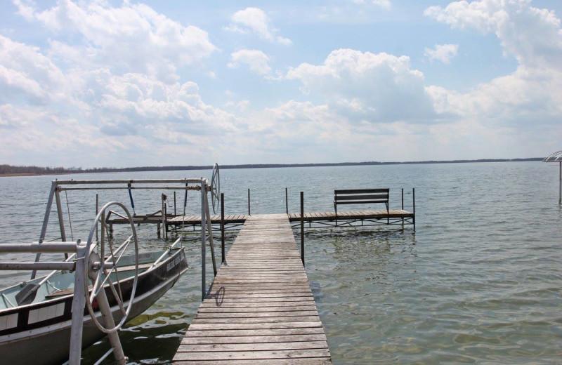 Lake at Holiday Haven Resort and Campground.