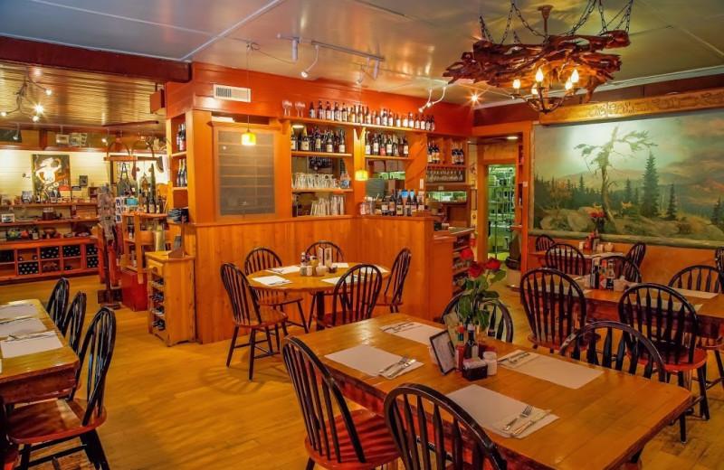 Restaurant view at Copper Creek Inn.