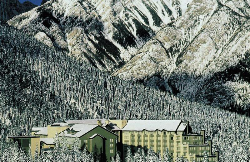 Aerial View of The Rimrock Resort Hotel