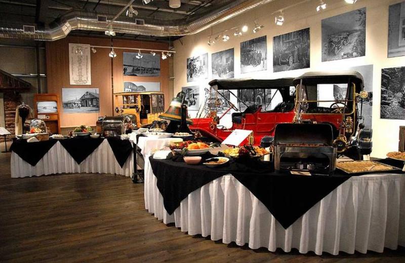 Fountainhead Antique Auto Museum catered event near Bear Lodge.