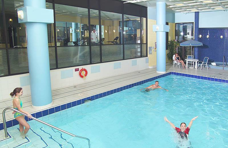 Indoor Pool at the Delta Markham