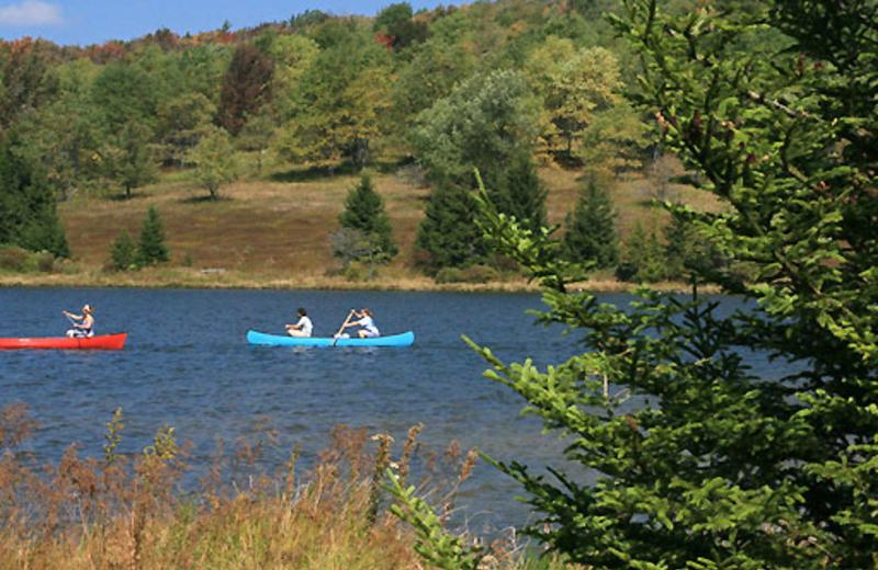 Canoeing near Timberline Mountain-Access Properties.