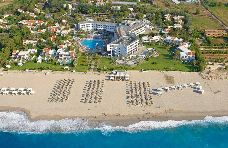 Aerial view of Grecotel Creta Palace.
