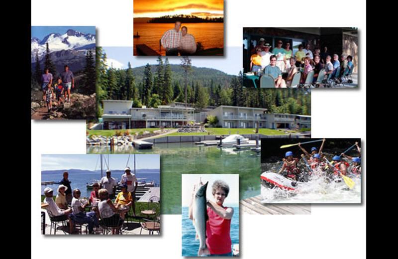 Activities at Many Springs Flathead Lake Resort.