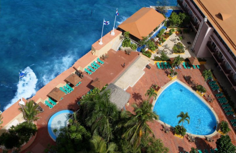 Aerial View of Plaza Hotel Curacao