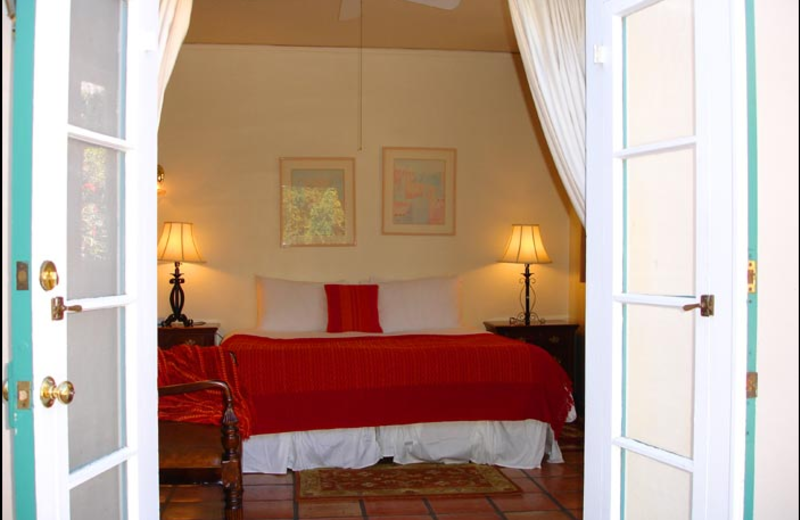 Guest room at Casa Cody.