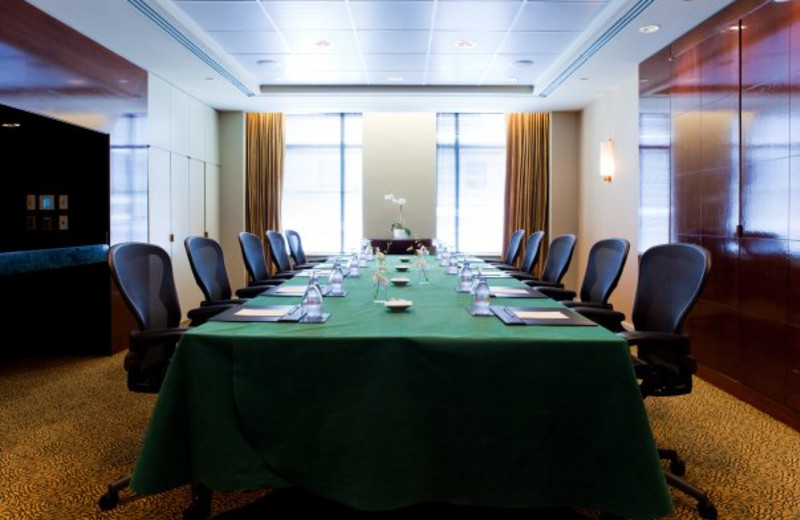 Meeting room at Sofitel Washington D.C. Lafayette Square.
