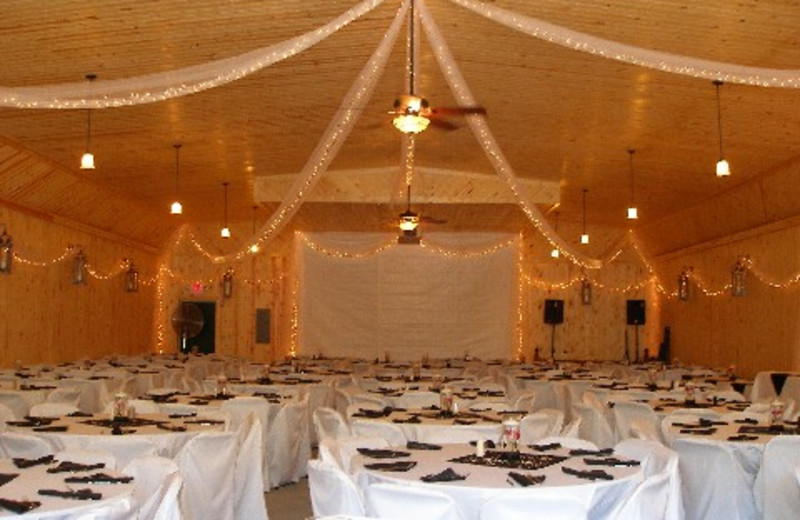 The banquet hall great for any special occasion at Ash-Ka-Nam.