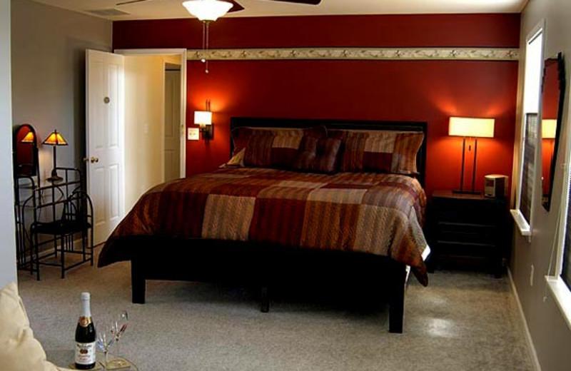 Moonlight Sky room at Moondance Ridge Bed & Breakfast.