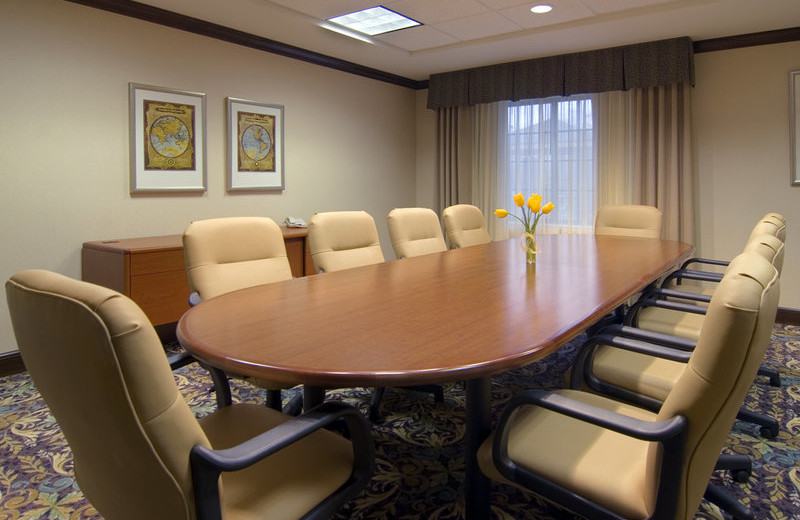 Meeting room at Staybridge Suites Stow.