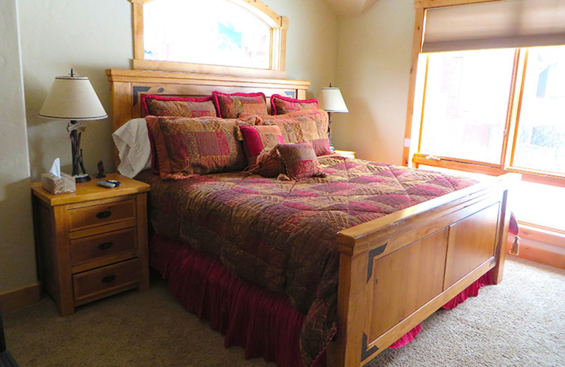 Rental bedroom at Access Winter Park.