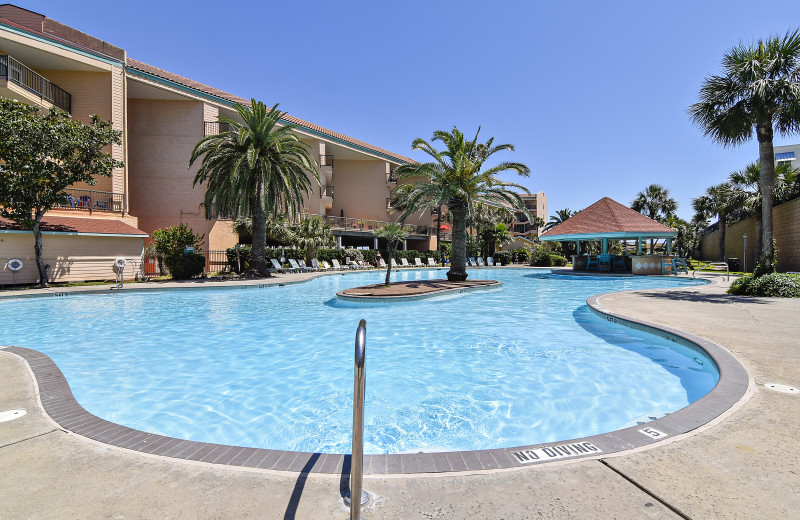 Ryson Vacation Rentals has condos at the Maravilla Resort, which features multiple pools, one of which is heated, hot tubs and fitness center.