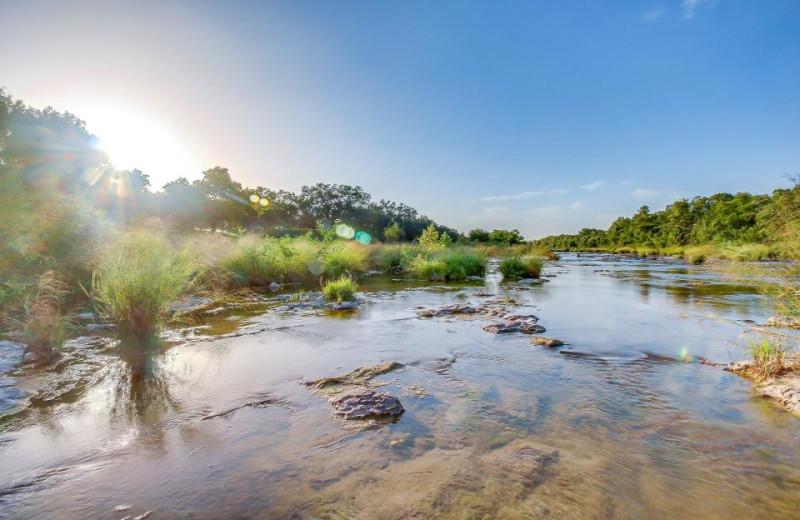 River at Vacasa Fredricksburg.