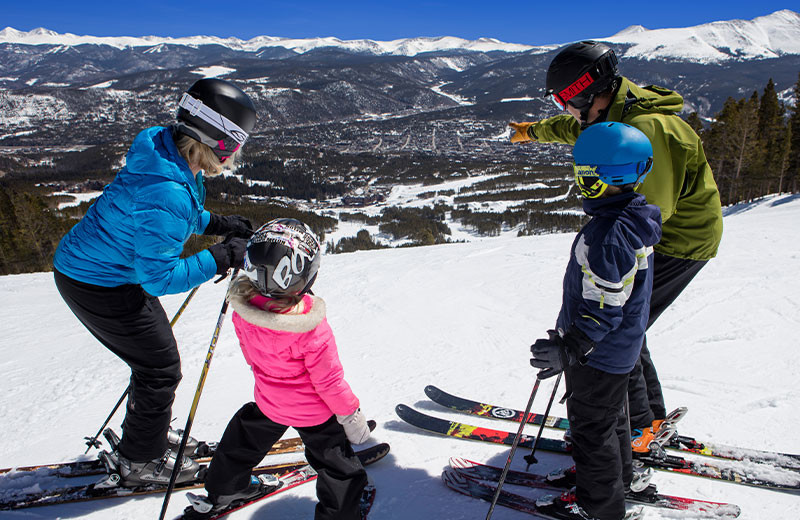 Ski at Grand Colorado on Peak 8.