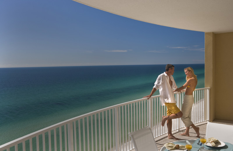 Balcony at Sterling Resorts.