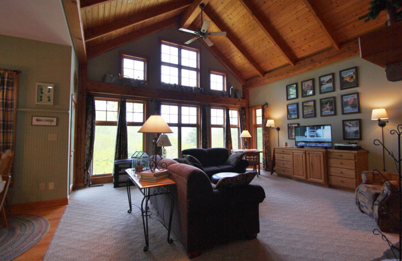 Rental living room at Jenkins Rentals.