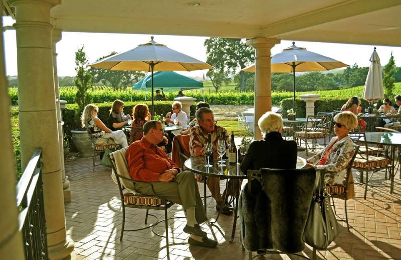SummerWood Winery's Tasting Room Patio.