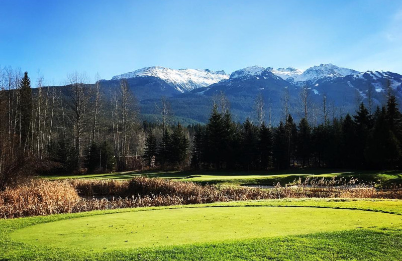 Golf at Whistler Breaks.