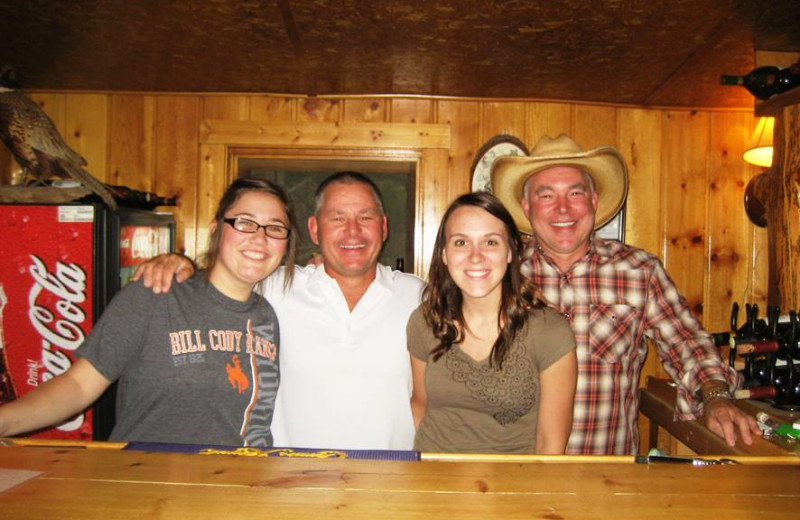Enjoying Time Together at Bill Cody Ranch