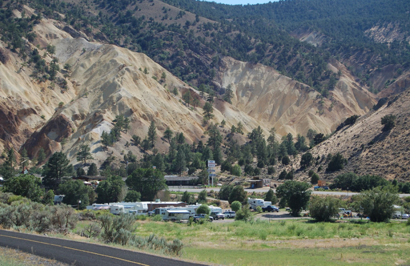 RV park at Big Rock Candy Mountain Resort.