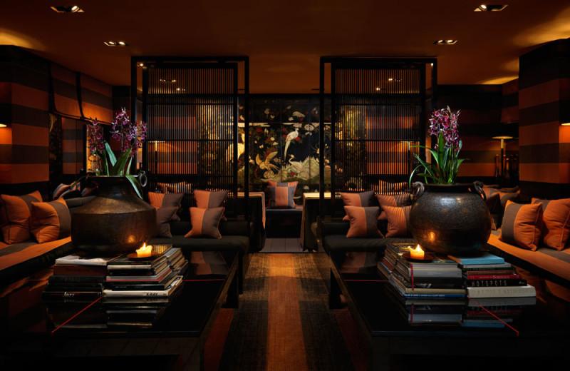 Lounge at Blake's Hotel.