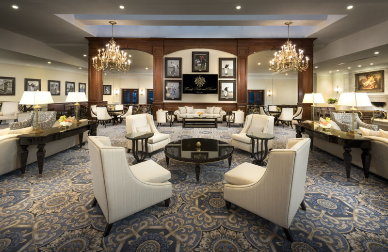 Lounge at Trump National Doral Miami.