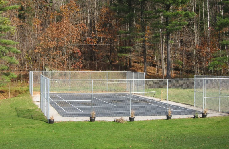 Basketball Court at The Clyffe House Cottage Resort.