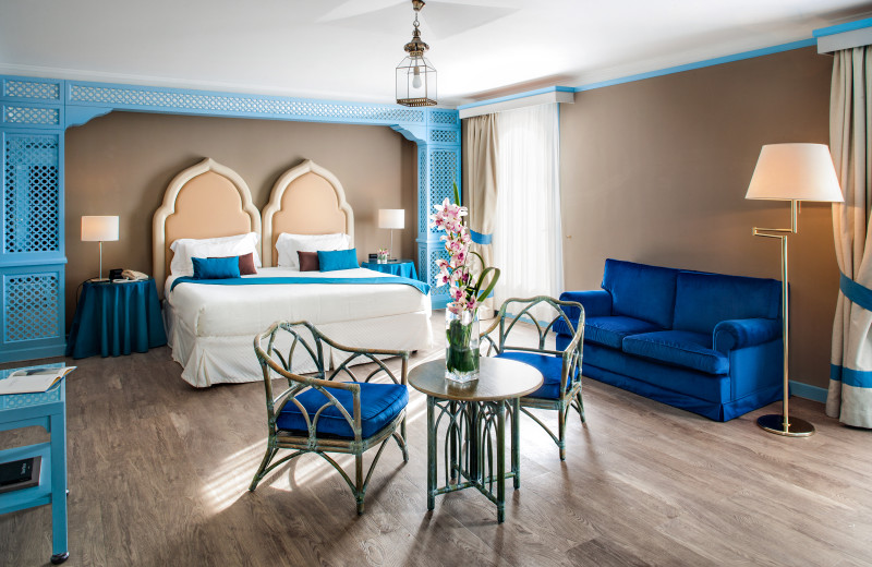 Guest room at Westin Excelsior Venice Lido.