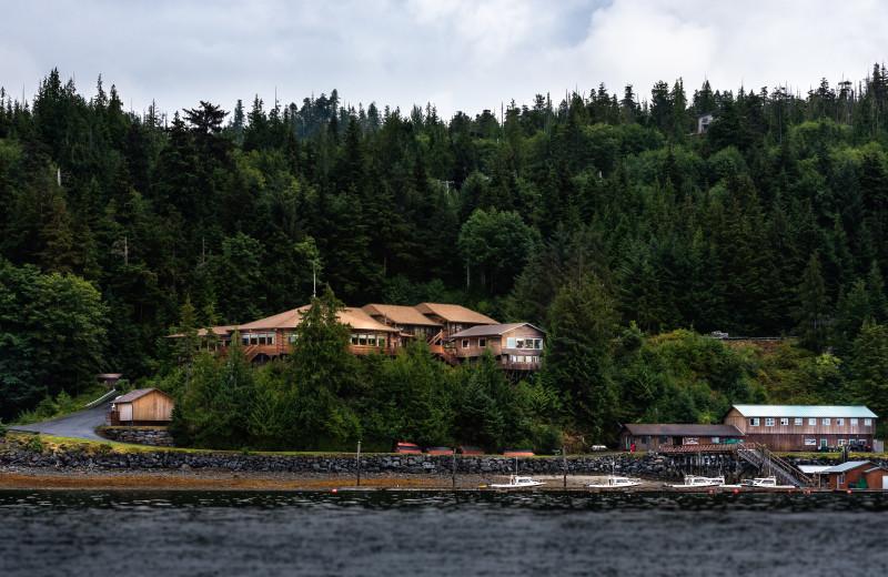 Salmon Falls Resort, all inclusive sport fishing resort in Ketchikan Alaska