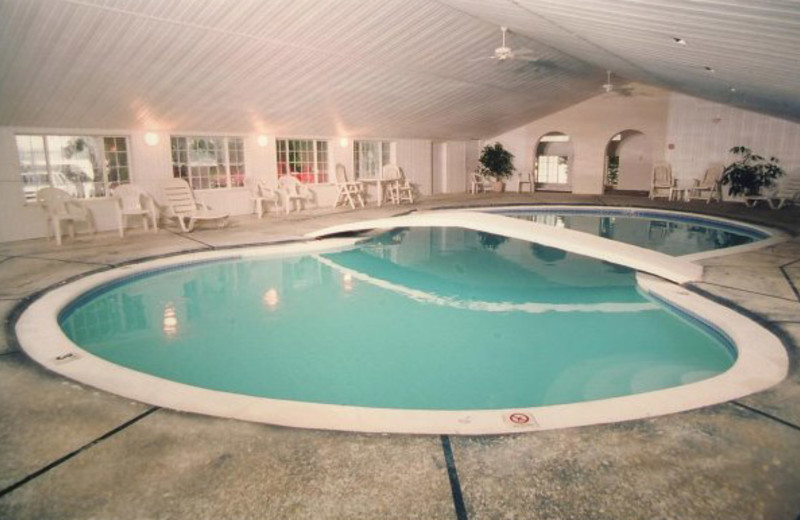 Indoor pool at Lakeview Resort.