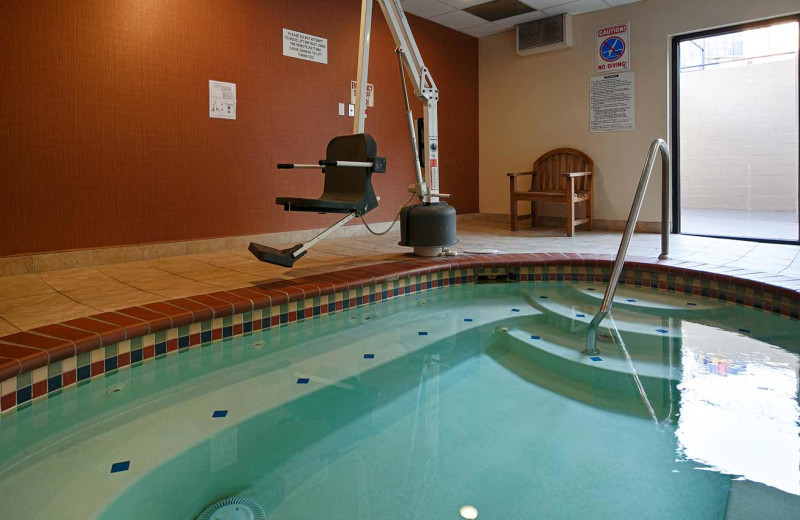 Indoor pool at The Loyal Inn.
