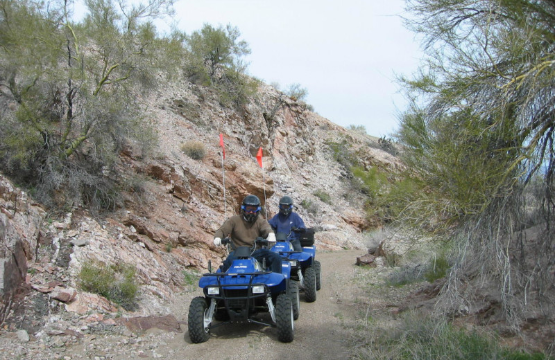 ATV at Stagecoach Trails Guest Ranch.