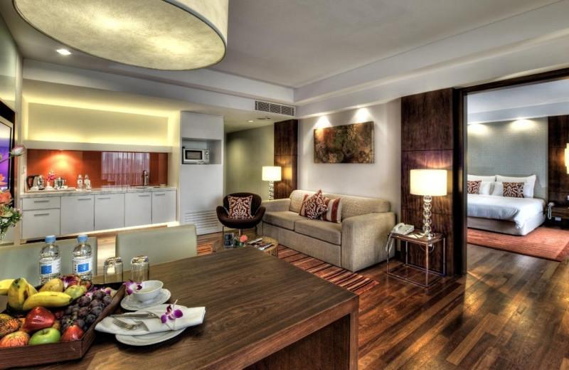 Guest suite at Seri Pacific Hotel Kuala Lumpur.