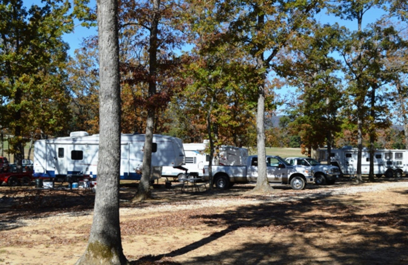 RV resort at Mulberry Mountain Lodging