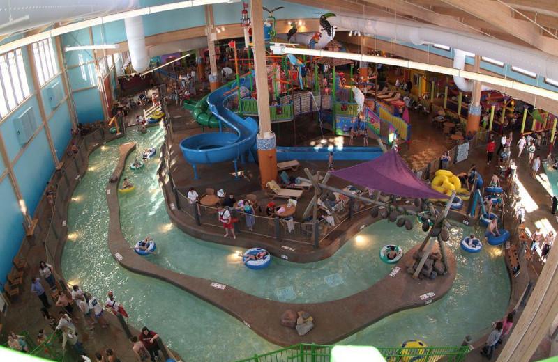 Indoor water park at CoCo Key Water Resort.