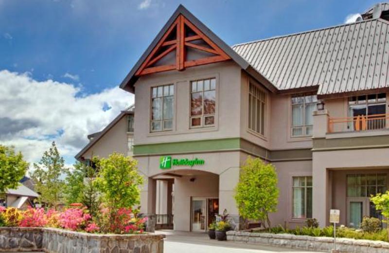 Exterior view of Holiday Inn SunSpree Resort Whistler Village Center.