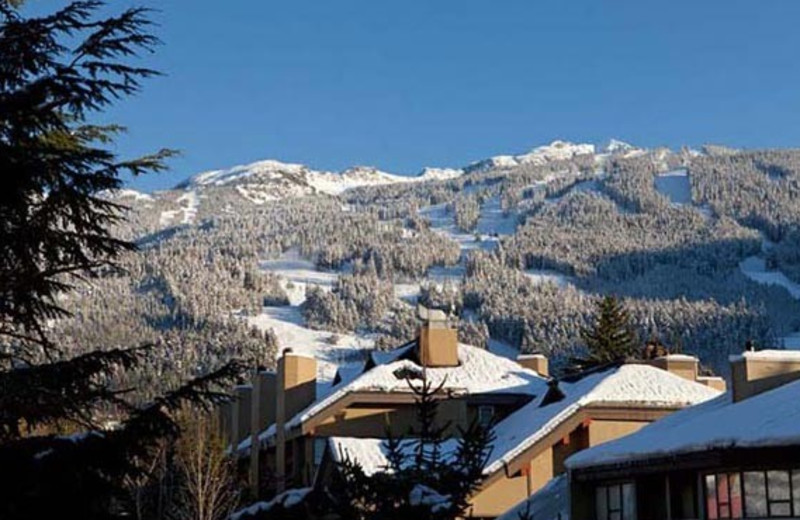 Exterior view of Whistler Premier Resort.